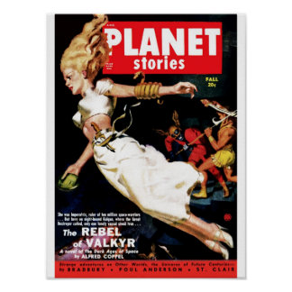 Planet Stories - Rebel of Valkyr Poster