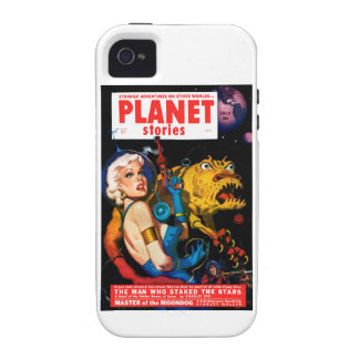Planet Stories - The Man Who Staked the Stars Vibe iPhone 4 Cases