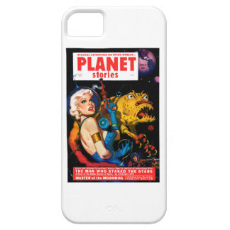 Planet Stories - The Man Who Staked the Stars iPhone 5 Covers