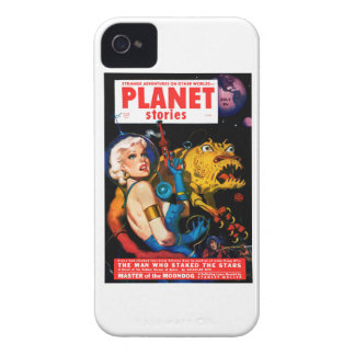 Planet Stories - The Man Who Staked the Stars iPhone 4 Cover