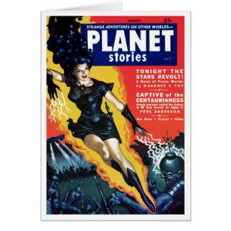 Planet Stories - The Stars Revolt Card