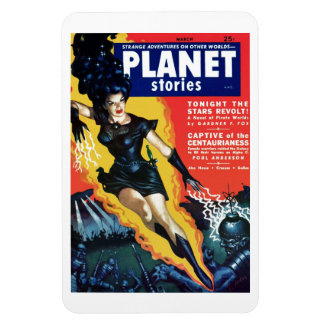 Planet Stories - The Stars Revolt  Magnet