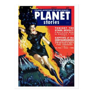 Planet Stories - The Stars Revolt Postcard