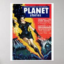 Planet Stories - The Stars Revolt Poster