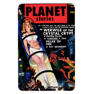 Planet Stories - The Werwile  Magnet