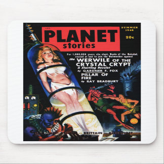 Planet Stories - The Werwile Mousepad