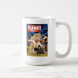 Planet Stories - Warmaid of Mars Mug