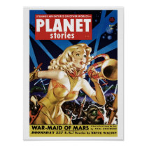 Planet Stories - Warmaid of Mars Poster
