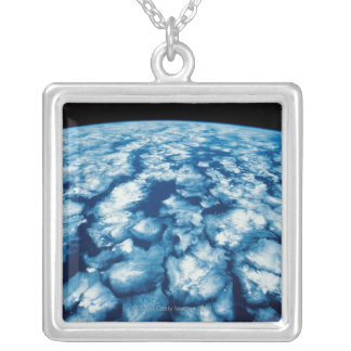 Planet Surface Personalized Necklace