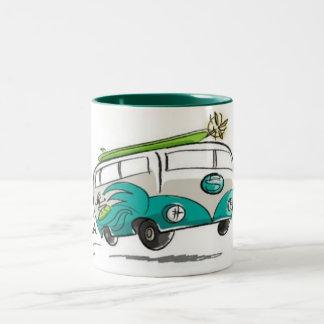 Planet-surfwear Two-Tone Coffee Mug