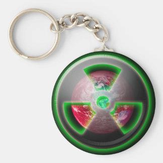 Planet Toxic Keychain