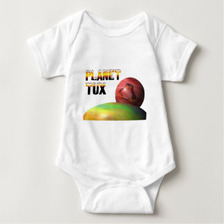 Planet Tux T Shirt