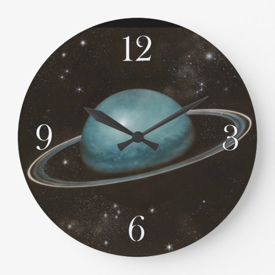 Planet Uranus Astronomy-lovers Wall Clock