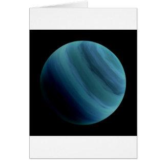 PLANET URANUS natural (solar system) ~~ Card