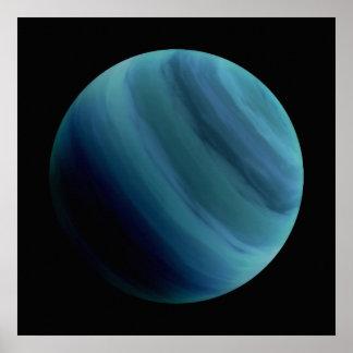 PLANET URANUS natural (solar system) ~~ Poster