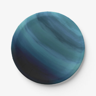 PLANET URANUS (solar system) ~ 7 Inch Paper Plate