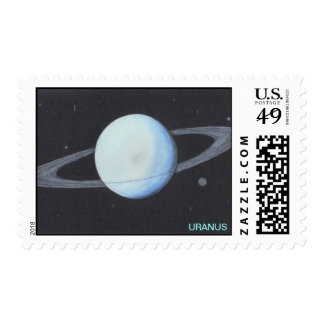 Planet URANUS stamps