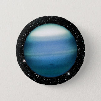 PLANET URANUS star background (solar system) ~ Button