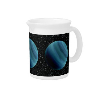 PLANET URANUS star background (solar system) ~~ Drink Pitchers
