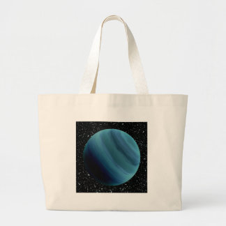 PLANET URANUS star background (solar system) ~~ Large Tote Bag