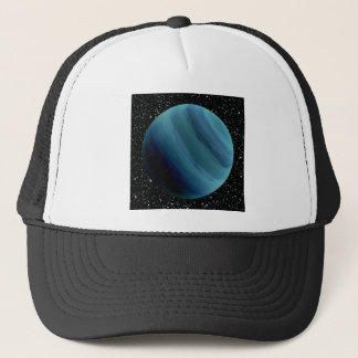 PLANET URANUS star background (solar system) ~~ Trucker Hat