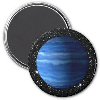 PLANET URANUS v.2 star background (solar system) ~ Magnet