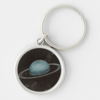 Planet URANUS Zipper-Pull & Luggage Tag, Keychain