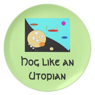 Planet Utopia Plate