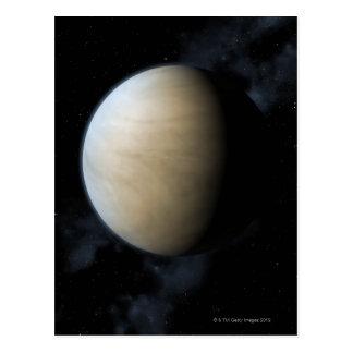 Planet Venus Postcard