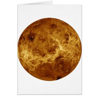 PLANET VENUS RADAR VERSION (solar system) ~ Card