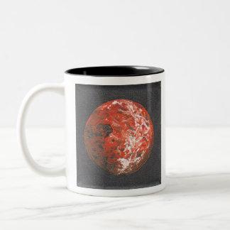 Planet Venus Two-Tone Coffee Mug