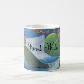 Planet Water  by Leomariano artist Brasil Coffee Mug