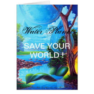 PLANET WATER for Leomariano Card