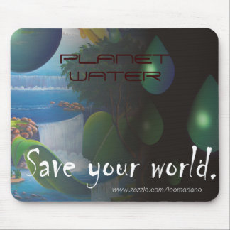 PLANET WATER MOUSE PADS