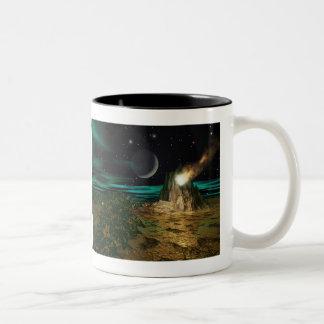 Planet Works Two-Tone Coffee Mug