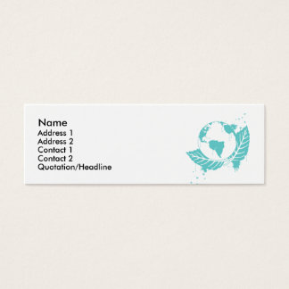 Planet Worth Mini Business Card