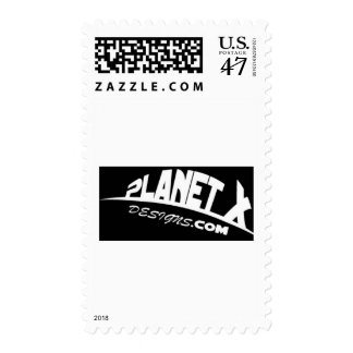 Planet X Designs Logo Postage
