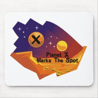 Planet X Spot Mouse Pad