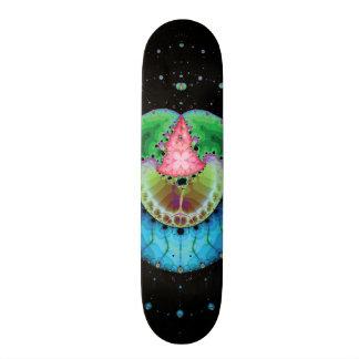 Planet Zazzle Fractal Skateboard Deck