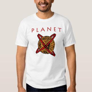 Planeta 2012 X Nibiru (frente/traseros) Camisas