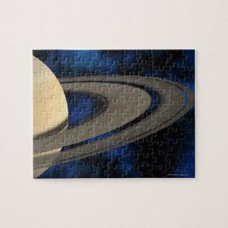 Planeta 2 de Saturn Rompecabezas