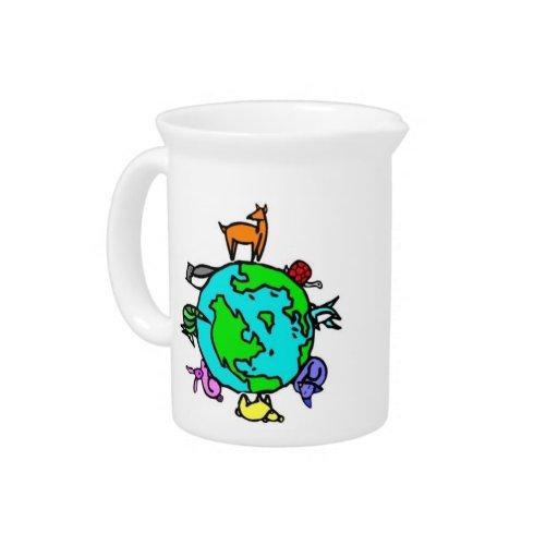 Planeta animal jarra