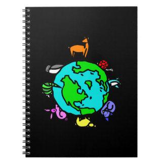 Planeta animal libro de apuntes