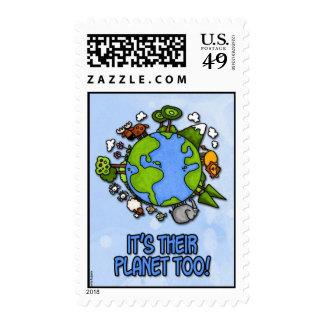 planeta animal sello