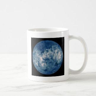 Planeta azul - luna azul taza