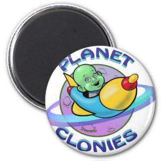 Planeta Clonies Imán Redondo 5 Cm
