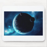 Planeta con las lunas tapetes de raton