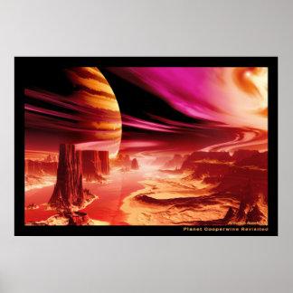 Planeta Cooperwine nuevo Póster