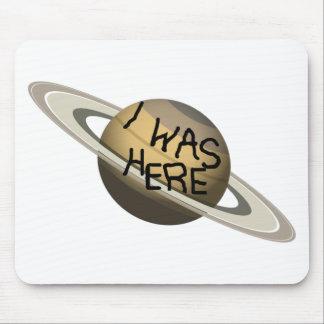 ¡Planeta de encargo de Saturn de la diversión - Tapete De Ratones