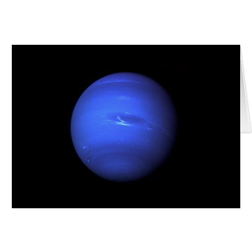 Planeta de la NASA de Neptuno Tarjeton